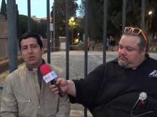 Intervista a Louay Al-Shabani - X Marcia internazionale per la Libertà -