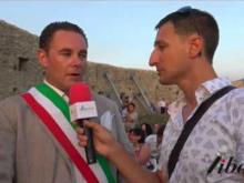 Intervista a Luca Marrelli, San Mango d'Aquino (CZ) - Inaugurazione Castello di Savuto (Cleto)