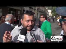 Intervista a Marco Marchese attivista Diritti Civili - Sentinelle in piedi a Lamezia Terme (CZ) 30/11/14