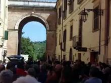 L'ultimo viaggio di Marco Pannella nella sua città natale