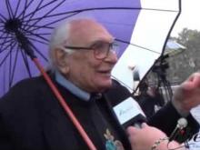 Intervista a Marco Pannella (Partito Radicale) - VIII Marcia Internazionale per la Libertà