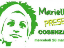 Marielle, Presente! - Cosenza 28 Marzo 2018