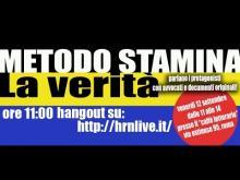 Metodo Stamina - Parlano le famiglie e gli avvocati - Promo di Isabella