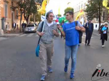 Intervista a Michele Capano (Radicali Italiani) - X Marcia internazionale per la Libertà