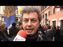 """""""Marcia di Natale 2013 per l'Amnistia, la Giustizia, la Libertà"""" – Interviste a Emilio Martucci e Michele De Lucia"""