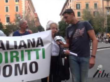 Intervista a MIna Welby - IX Marcia Internazionale per la Libertà