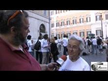 Mina Welby - Walk Around per l'Eutanasia legale organizzato dall'Ass. Luca Coscioni 11/09/14