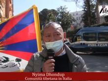 Nyima Dhondup - 62° Anniversario dell'insurrezione di Lhasa - Roma  #FREETIBET