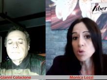 Monica Lozzi, candidata Sindaco a Roma per la lista ЯEvoluzione Civica