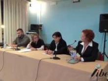Un momento dell'incontro a Catanzaro, in occasione della giornata contro la violenza sulle donne