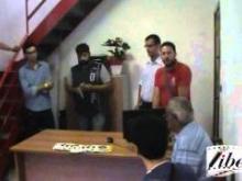 Un momento della cerimonia di inaugurazione della Camera del lavoro di Pianopoli