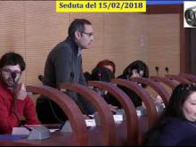 Seduta del Consiglio Municipale Roma VII del 15/02/2018