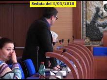 Seduta del Consiglio Municipale Roma VII del 3/05/2018