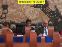 Seduta del Consiglio Municipale Roma VII del 7/11/2017