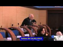 Seduta del Consiglio Municipale Roma VII del 16/02/2015
