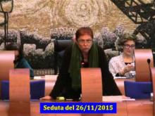 Seduta del Consiglio Municipale Roma VII del 26/11/2015 Parte 1 di 2
