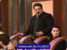Seduta del Consiglio Municipale Roma VII del 26/11/2015 Parte 2 di 2