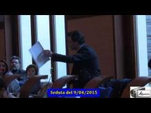 Seduta del Consiglio Municipale Roma VII del 9/04/2015 parte 2 di 3