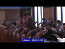 Seduta del Consiglio Municipale Roma VII del 12/03/2015.