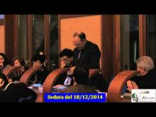 Seduta del Consiglio Municipale Roma VII del 18/12/2014 Parte 2 di 2