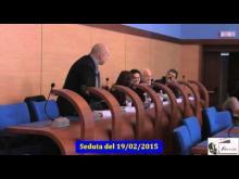 Seduta del Consiglio Municipale Roma VII del 19/02/2015
