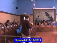 Seduta del Consiglio Municipale Roma VII del 15/10/2015 Parte 2 di 2