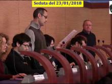 Seduta del Consiglio Municipale Roma VII del 23/01/2018