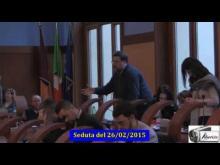 Seduta del Consiglio Municipale Roma VII del 26/02/2015. Parte 1 di 2