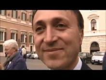 Il giorno del Napolitano-Bis - Intervista al Senatore Marino Mastrangeli del MoVimento 5 Stelle