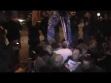 No Omofobia in Russia - Svolgimento del sit-in davanti l'Ambasciata Russa, momenti di tensione, interviste, videocronaca