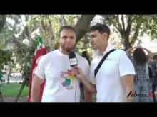 Intervista a Nunzio Gentiluomo (Zephyria) - Calabria Pride 2014 (Reggio Calabria)