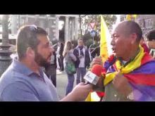 VI Marcia Internazionale per la Libertà - Intervista al Prof. Nyima Dhondup, Presidente Comunità Tibetana in Italia Onlus