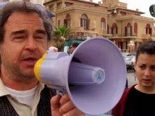 Manifestazione per la legalità al pontile di Ostia del 15 aprile 2018