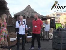 Federica Angeli, Pino Scaccia, Massimiliano Vender - Presentazione dell'associazione antimafia #NOI - Ostia (lido di Roma) 22 luglio 2018