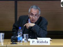 """Intervento di Paolo Ridola - """"Stato di diritto e diritti di libertà"""""""