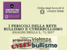 I pericoli della rete: Bullismo e Cyberbullismo - Analisi della L. 71/2017 - Tribunale di Lamezia Terme (Cz)