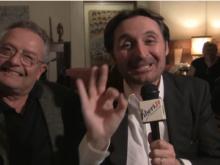 """Carlo Prinzhofer e Marco D'Agostini. Presentazione di """"In che mondo viviamo"""" Romanzo cosmico di P.P.Segneri"""