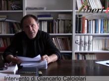 """""""Chi siamo noi"""" - Intervento di Giancarlo Calciolari"""