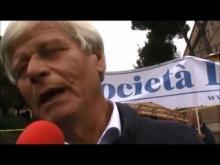 Quinta Marcia per la Libertà dei popoli oppressi - Interviste a Vincenzo Olita, Arsalan (Uiguri), Nima (Comunità Tibetana in Italia)