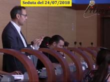 Attilio Giannone - M5S. Seduta del Consiglio Municipale Roma VII del 24/07/2018.