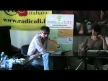 Assemblea Straordinaria dell'Associazione Radicali Roma Parte1 di 2 (16/06/13)