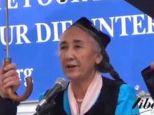Intervento di Rebiya Kadeer (Leader spirituale popolo Uyghuro) - VIII Marcia Internazionale per la Libertà