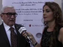"""Roberto Di Paolo - Premio """"Le Ragioni della Nuova Politica"""" edizione 2015"""