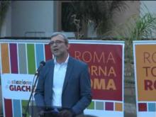 Roberto Giachetti - Comizio di apertura della campagna elettorale Roma 2016