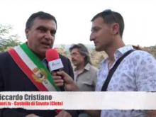 Intervista a Roberto Perrotta, Sindaco di Paola - Inaugurazione Castello di Savuto (Cleto)