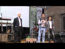 Evento-concerto organizzato dal Comitato RomaSìMuove (1) - Vergassola, Staderini (Radicali Italiani), Bonelli (Federazione Verdi), Croppi (Fondazione Valore Italia)