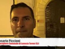 """""""Parole, parole, parole…"""" - Intervista a Rosario Piccioni consigliere comunale di Lamezia Terme (Cz) 10/07/17"""