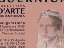 "Intervista a Rossana De Fazio, pittrice - coordinatrice mostra d'arte ""Guernica"" a Soveria Mannelli (CZ)"