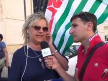 Manifestazione 18 Luglio 2016 – Intervista a Rosy Perrone SLP Cisl Confederale Reggio Calabria
