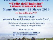 Spot dell'Escursione a Colle dell'Infinito del 24 marzo 2019 - Associazione Santi 40 Martiri